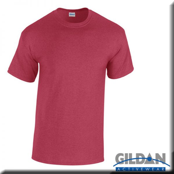G5000 T-Shirt, Heavy Cotton, , rot-braune Töne - GILDAN
