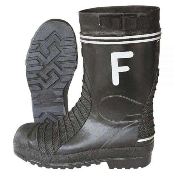"""Standard Feuerwehrstiefel """"F"""" , schwarz - SALE"""