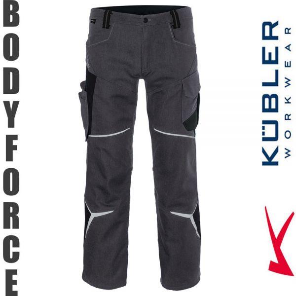 BODYFORCE Bundhose - Kübler Workwear-2225-anthrazit-schwarz