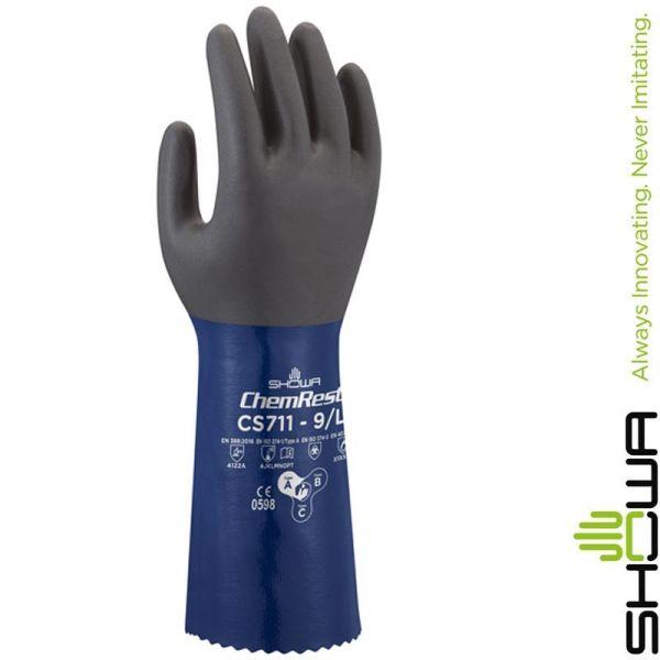 SHOWA CS711 Chemieschutzhandschuh