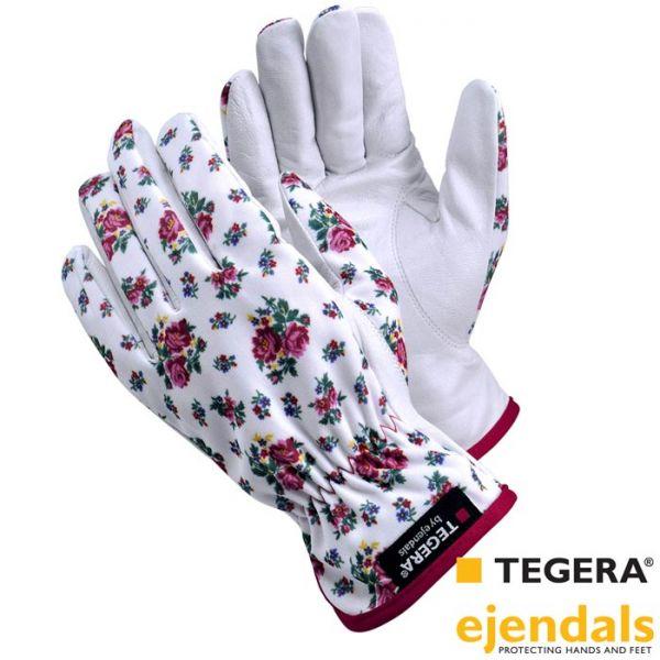 Frauen Gartenhandschuh TEGERA 90014, Ziegennappaleder, 8850