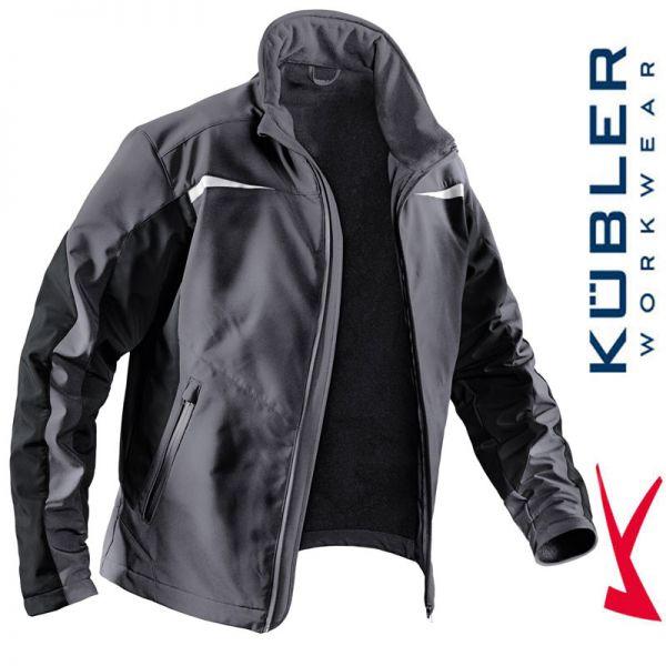 Softshelljacke - Kübler Workwear - 1241-9799 anthrazit-schwarz