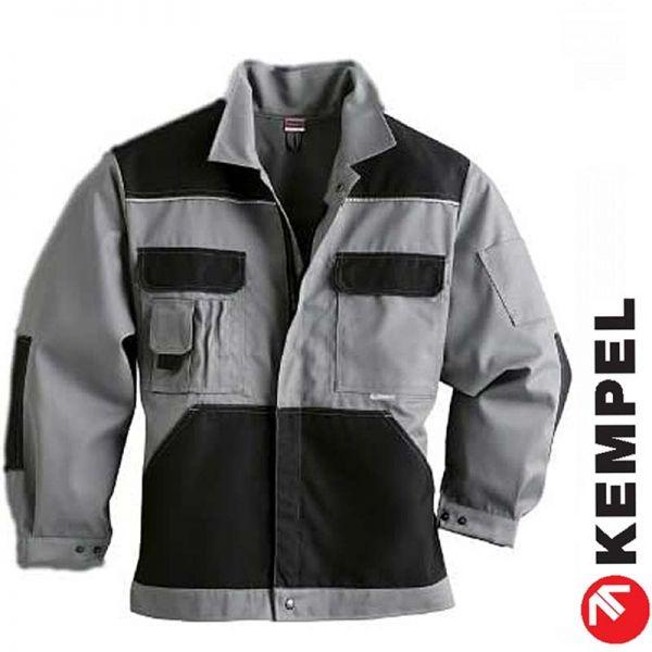 Comfort Worker Blouson - grau-schwarz - SALE - 9180