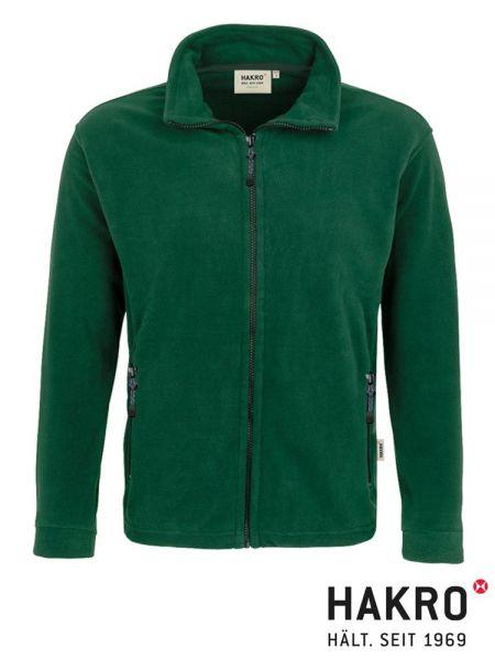 № 840 Fleece Jacke Langley, HAKRO, grün