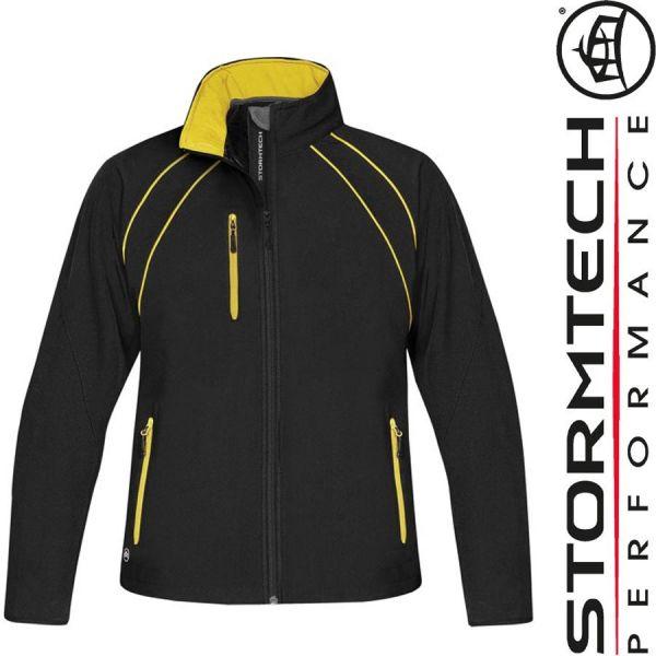 Crew Softshelljacke - STORMTECH - schwarz-gelb -ST73