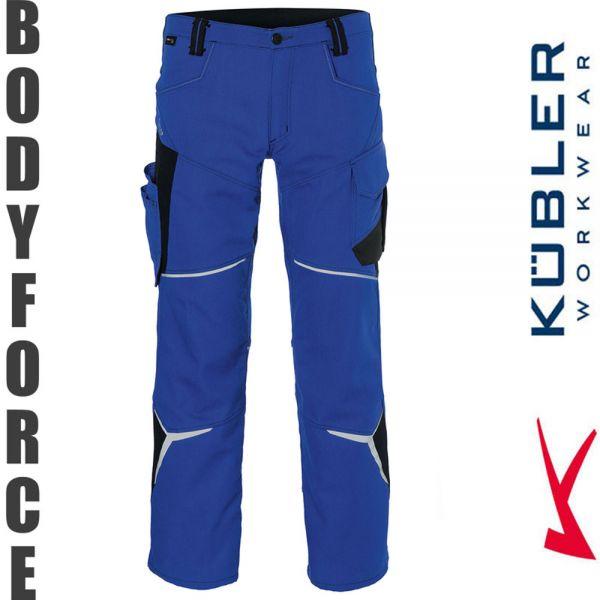 BODYFORCE Bundhose - Kübler Workwear-2225-kornblau-schwarz