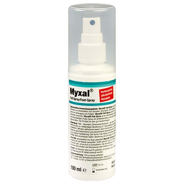 Fussdesinfektionsspray MYXAL - 100ml