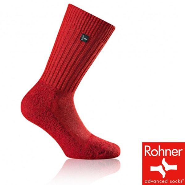 ROHNER - Original Wandersocke - 60-3091-vulkanrot