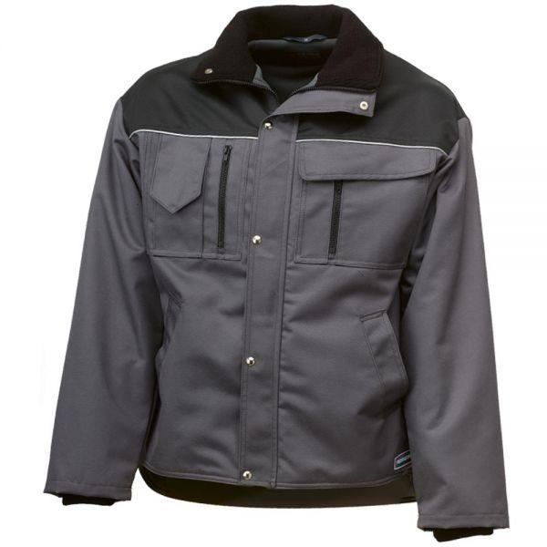 Trekker Winterjacke grau - schwarz - altes Modell ! SALE