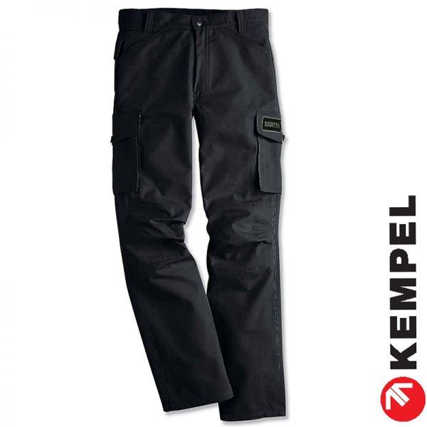 COTTON PUR - Arbeitshose - schwarz - 100% Baumwolle-KEMPEL-7056