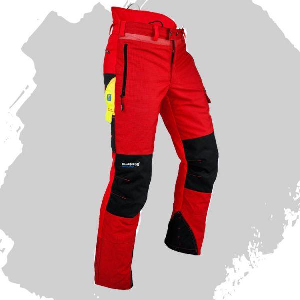Pfanner Ventilations Schnittschutzhose - rot