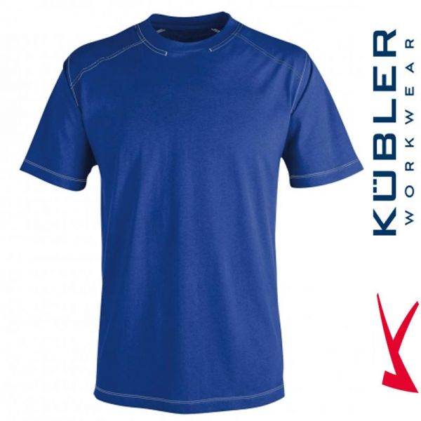 Kübler T-Shirt Form 5407 - Kornblau-SALE