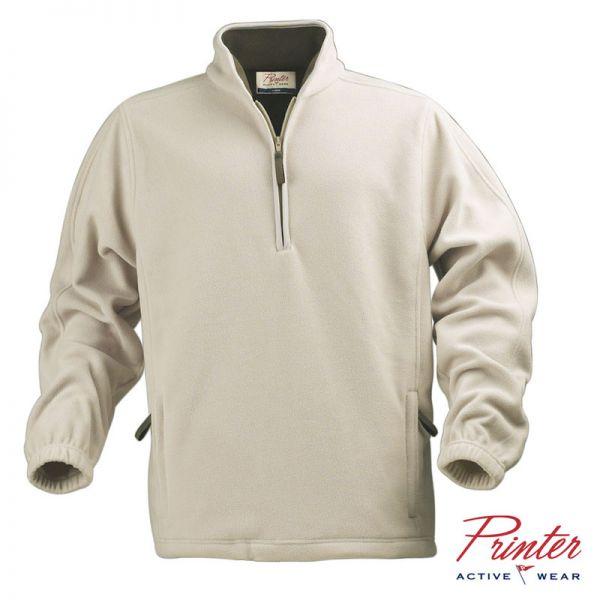 Fleecepullover mit Reissverschluss, beige Printer active wear, 2262025-173