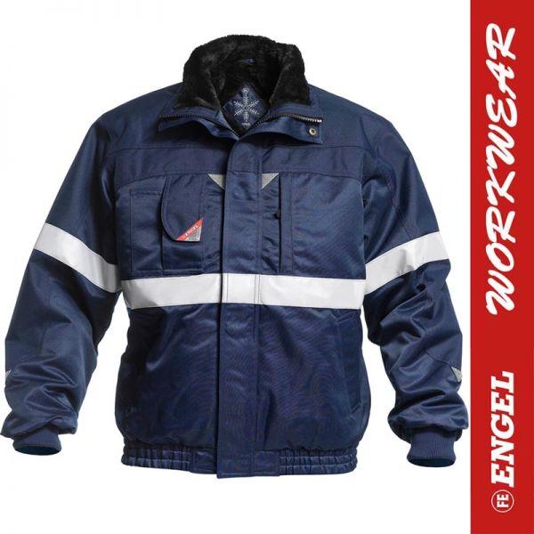 Pilotjacke mit Reflexstreifen - ENGEL Workwear - 1211-912