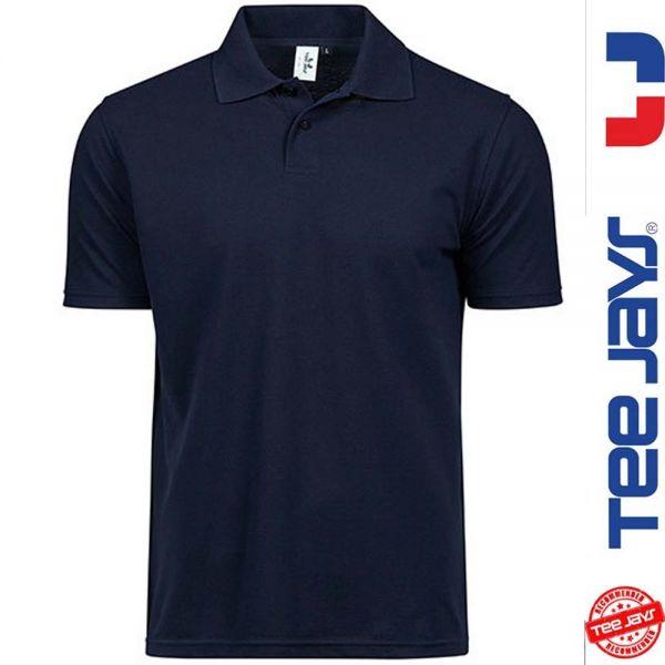 Power Poloshirt - TEE-JAYS-navy
