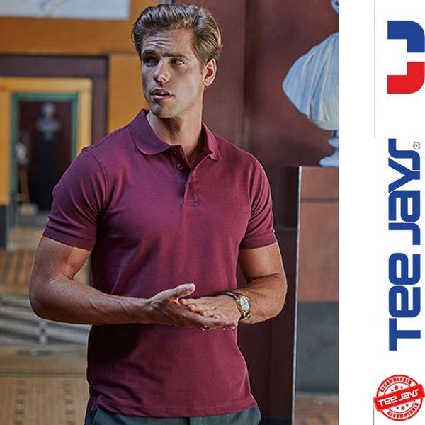 Luxury Stretch Poloshirt - TEE-JAYS - TJ1405