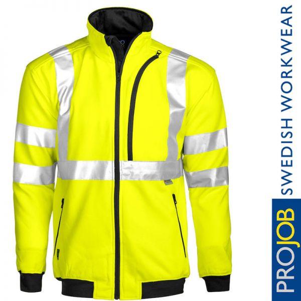 Sweatjacke EN ISO 20471 Klasse 3, Pro Job - 6103