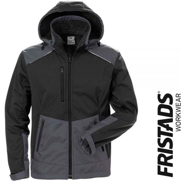 Softshell Winterjacke 4060 CFJ -FRISTADS Workwear- 127188-schwarz-grau