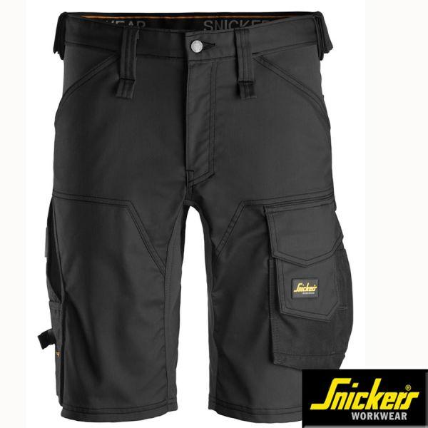 Snickers Workwear, 6143 Allround Work, Stretch Shorts-schwarz